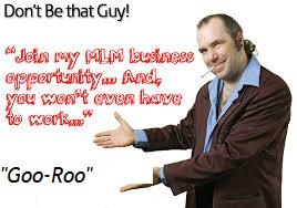 network marketing goo-roos