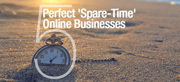 perfect spare time online businesses